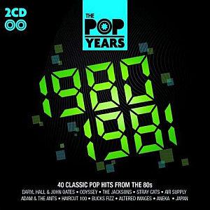 The Pop Years 1980-1989 [10-CD]