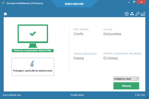 Zemana AntiMalware Premium 2.50.2.83 MULTI-PL