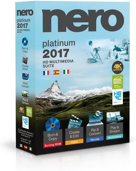 Nero 2017 Platinum 18.0.06100 + Content Pack MULTI-PL
