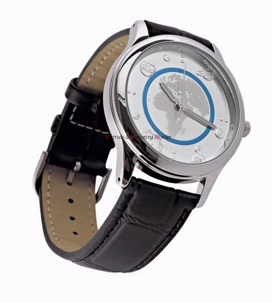 armbanduhr uhr zur 5 euro gedenkm nze blauer planet erde 2016 ebay. Black Bedroom Furniture Sets. Home Design Ideas