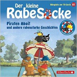 Hörbuch Cover für Piraten Ahoi! und andere rabenstarke Geschichten: 1 CD Der kleine Rabe Socke - Hörspiele zur TV Serie, Band 1