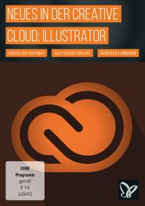 Cover für PSD Tutorials - Neues in der Creative Cloud: Illustrator