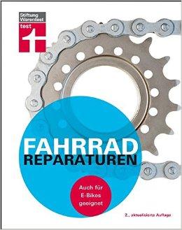Buch Cover für Stiftung Warentest  Fahrradreparaturen