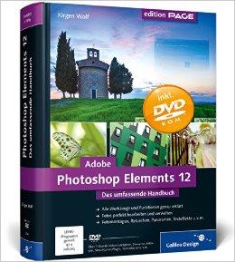 Buch Cover für Adobe Photoshop Elements 12: Das umfassende Handbuch Galileo Design
