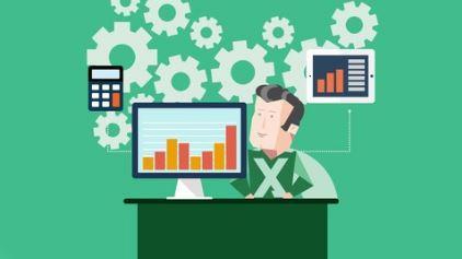 Kurs Cover: Excel Formeln & Funktionen & Pivot-Tabellen Masterclass