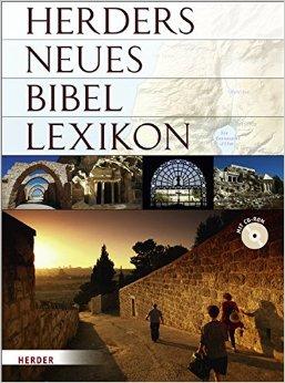 Buch Cover für Herders neues Bibellexikon