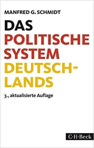 Buch Cover für Das politische System Deutschlands: Institutionen, Willensbildung und Politikfelder