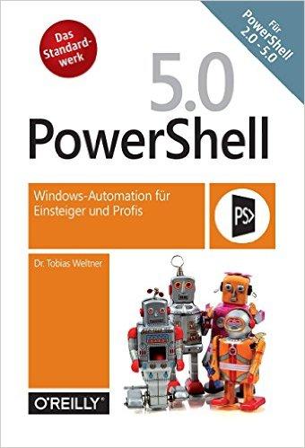 Buch Cover für PowerShell 5: Windows-Automation für Einsteiger und Profis