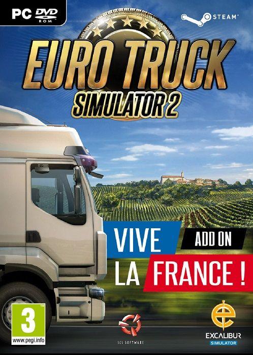Euro Truck Simulator 2: Vive La France! (2016) SKIDROW / Polska Wersja Językowa