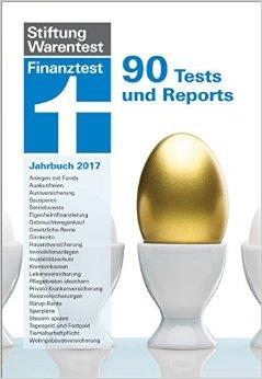 Buch Cover für Finanztest Jahrbuch 2017: 90 Texts und Reports