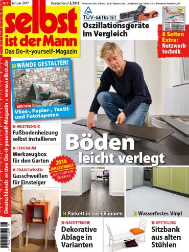 Buch Cover für selbst ist der Mann - Januar 2017