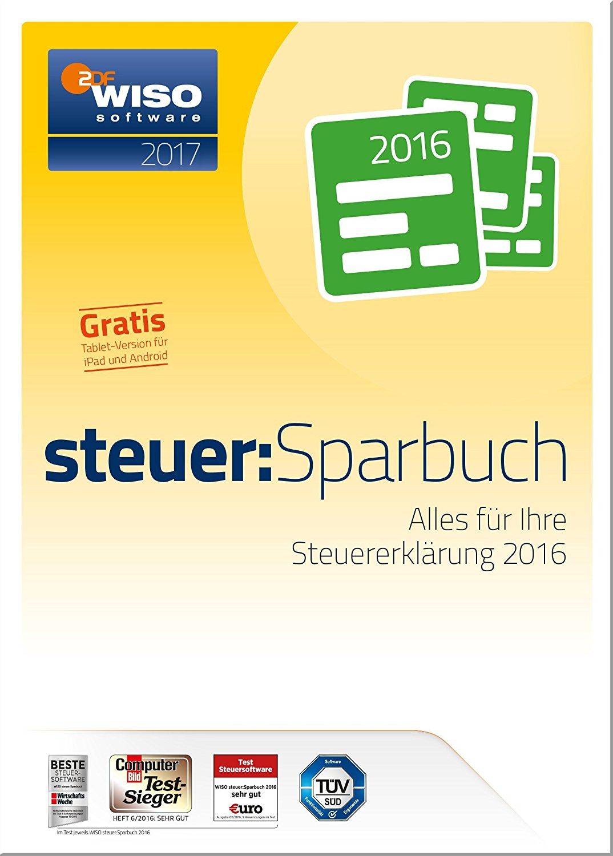 Software: WISO Steuer-Sparbuch 2017