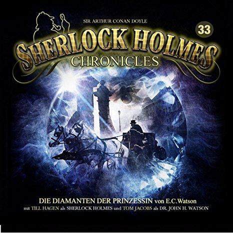 Hörbuch Cover für Sherlock Holmes Chronicles 33-Die Diamanten Der PR