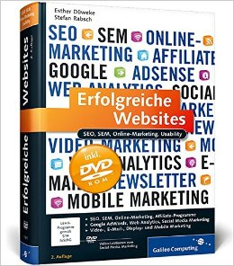Buch Cover für Erfolgreiche Websites: SEO, SEM, Online-Marketing, Usability Galileo Computing