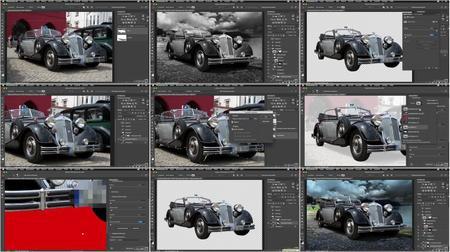 Kurs Vorschau: Video2Brain - Photoshop: Freistelltechniken