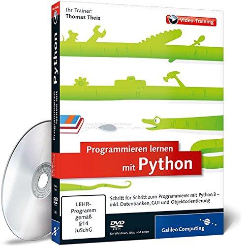 Video Kurs für Programmieren lernen mit Python - Das Training für Einsteiger