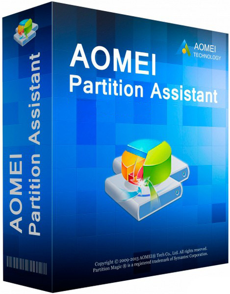 AOMEI Partition Assistant Technician Edition 6.1.0 MULTI-PL [ZAREJESTROWANA WERSJA]