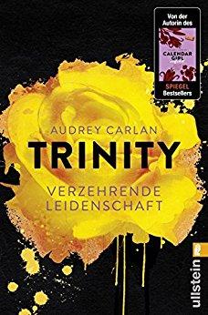 Buch Cover für Trinity - Verzehrende Leidenschaft (Die Trinity-Serie 1)