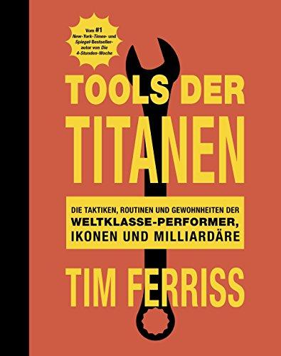 Buch Cover für Tools der Titanen