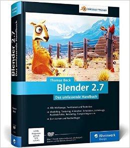 Buch Cover für Blender 2.7: Das umfassende Handbuch