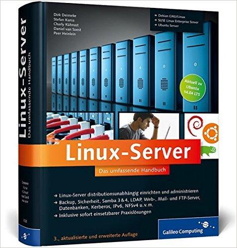Buch Cover für Linux-Server: Das umfassende Handbuch Galileo Computing