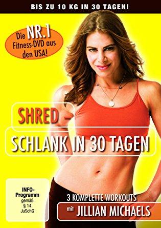 DVD Cover für Shred: Schlank in 30 Tagen