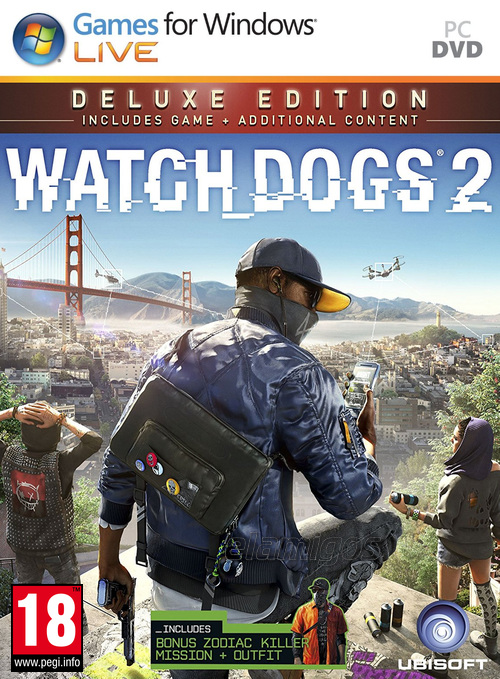 Watch Dogs 2 Deluxe Edition (2016) [PC][ISO][ElAmigos][31.70 GB][MULTI-HOST]