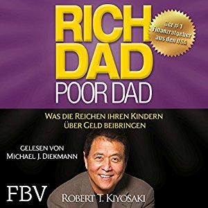 Hörbuch Cover für Rich Dad Poor Dad: Was die Reichen ihren Kindern über Geld beibringen