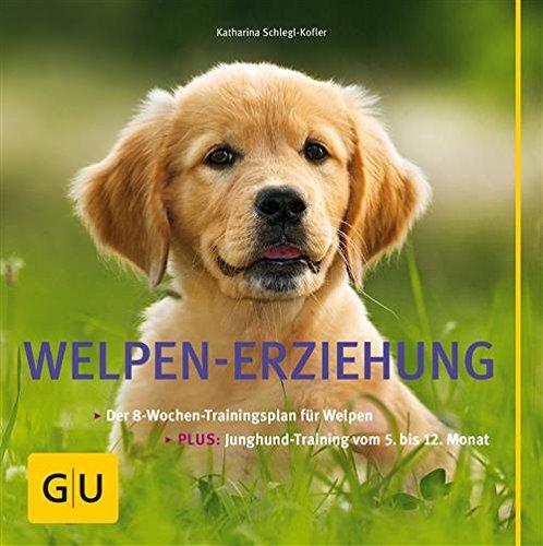 Buch Cover für Welpen-Erziehung