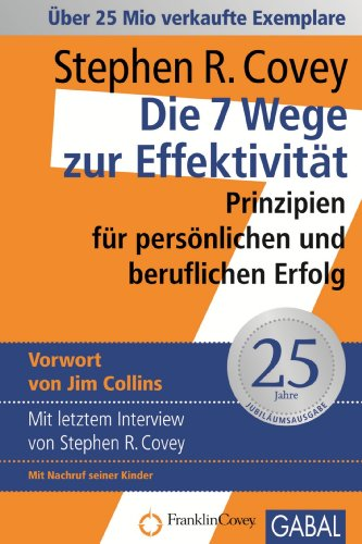 Buch Cover für Die 7 Wege zur Effektivität