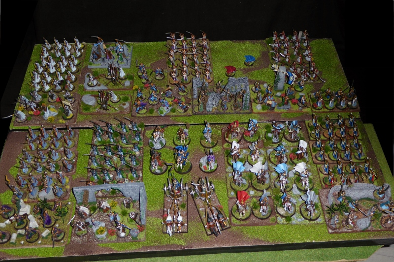 Aragorn et les 5 Armées - Armée de Mirkwood Update H746de7s