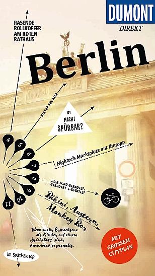 Buch Cover für DuMont direkt Reiseführer Berlin: Mit großem Cityplan
