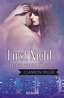 Buch Cover für First Night - Der Vertrag