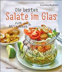 Kochbuch Cover für Die besten Salate im Glas zum Mitnehmen