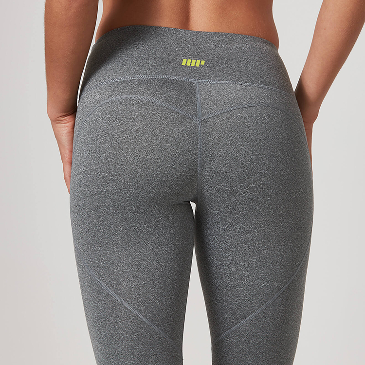 myprotein core damen leggings grau meliert leggins my protein lang grey marl ebay. Black Bedroom Furniture Sets. Home Design Ideas