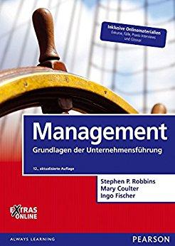 Buch Cover für Management: Grundlagen der Unternehmensführung