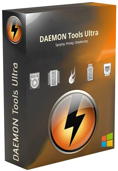 DAEMON Tools Ultra 5.0.1.0551 MULTI-PL [ZAREJESTROWANA WERSJA]
