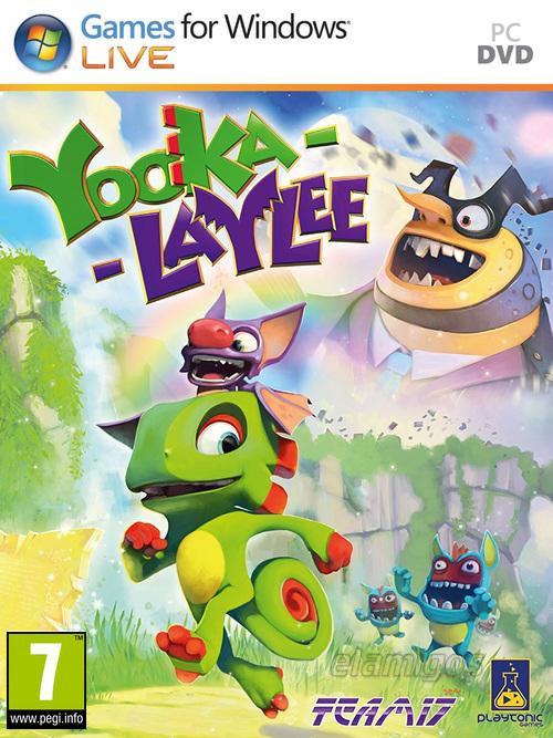 Yooka Laylee / Yooka-Laylee (2017)