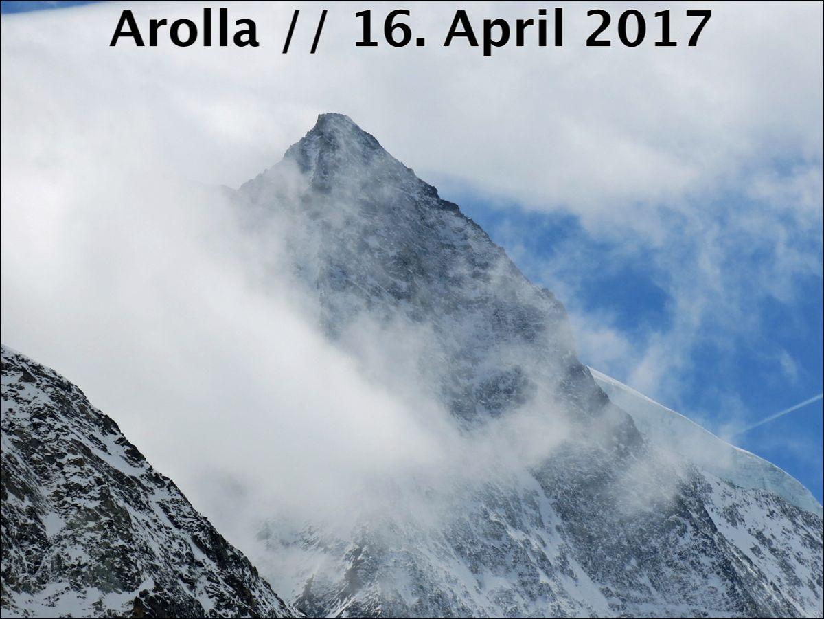 Arolla // 16. April 2017 // Hochalpiner Kessel - alpinforum.com