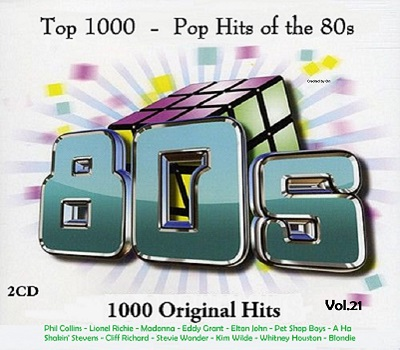 Top 1000 - Pop Hits of the 80s Vol 21 (2CD) (2017) (Bootleg)