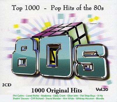 Top 1000 - Pop Hits of the 80s Vol 20 (2CD) (2017) (Bootleg)