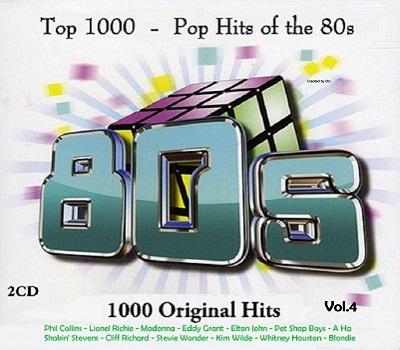Top 1000 Pop Hits of the 80s Vol 4 2CD 2017