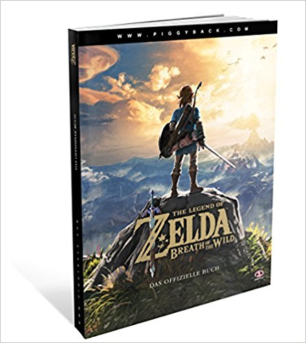 Buch Cover für The Legend of Zelda - Breath of the Wild Lösungsbuch