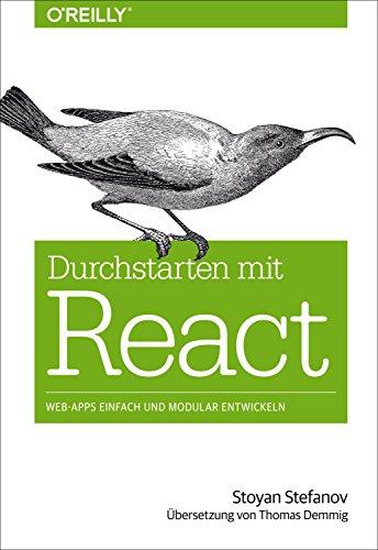 Buch Cover für Durchstarten mit React: Web-Apps einfach und modular entwickeln