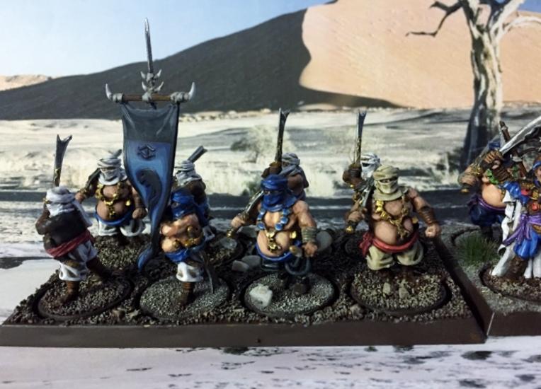 Sauron et ses 10 Armées - L' Armée de L'Immortel L646l7vx