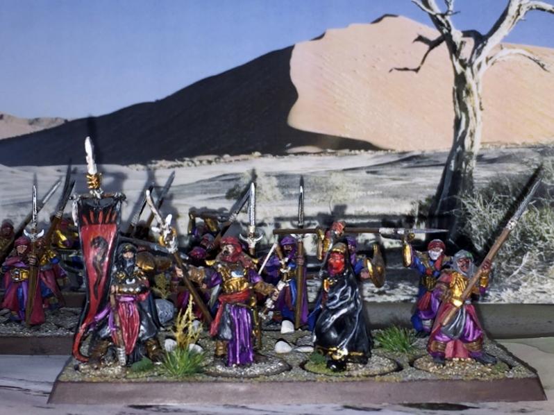 Sauron et ses 10 Armées - L' Armée de L'Immortel R8he49k2