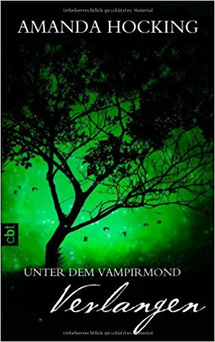 ebook Cover for Unter dem Vampirmond - Verlangen: Band 3