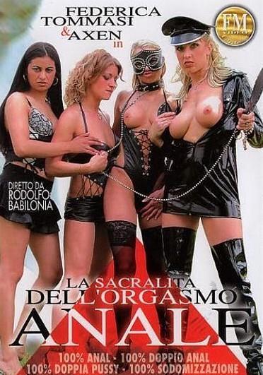 La Sacralita Dell Orgasmo Anale  Cover
