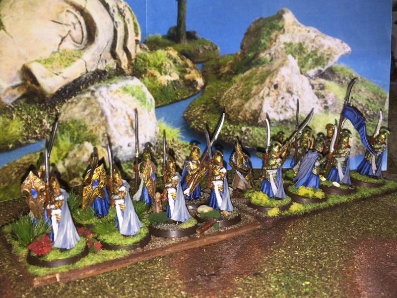 Aragorn et les 5 Armées - Armée de Mirkwood Update Wezgoazy