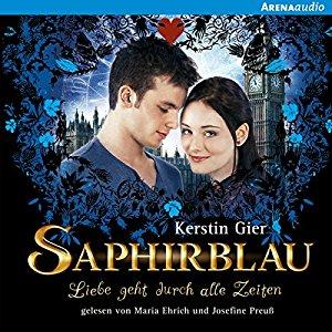 Hörbuch Cover Saphirblau Liebe geht durch alle Zeiten 2